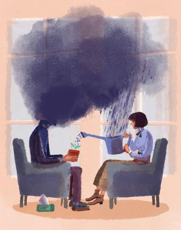 L'effetto della terapia [credit: Ilaria Urbinati]